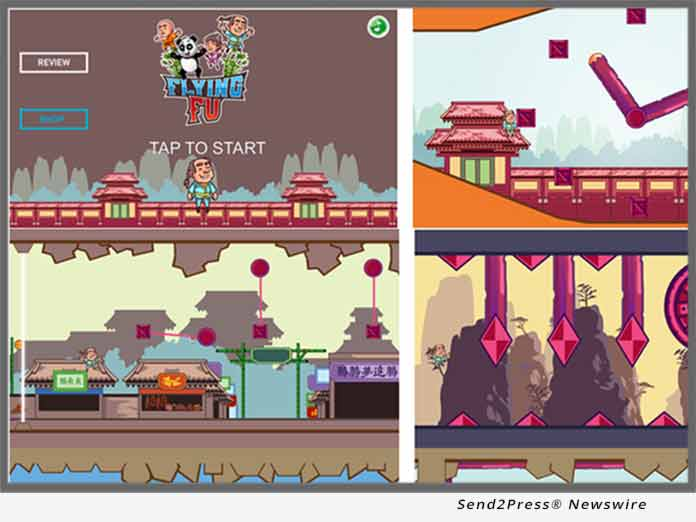 Mobile Arcade Game Flying Fu