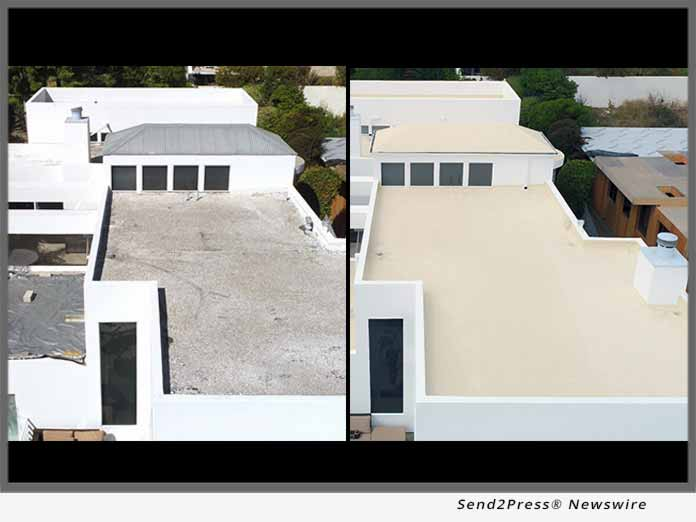 Pacific Roofing using SureCoat Roof System