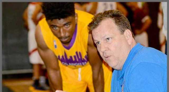 Basketball coach Mike Miller