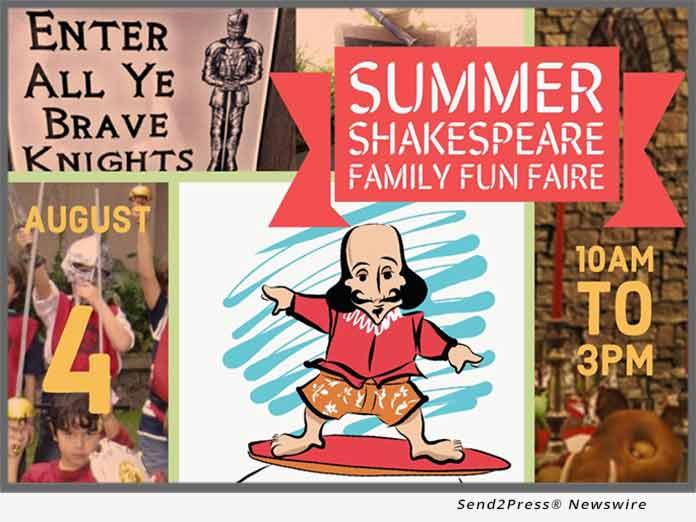 Summer Shakespeare Family Fun Faire