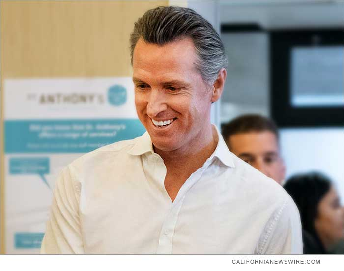 Calif. Gov. Gavin Newsom