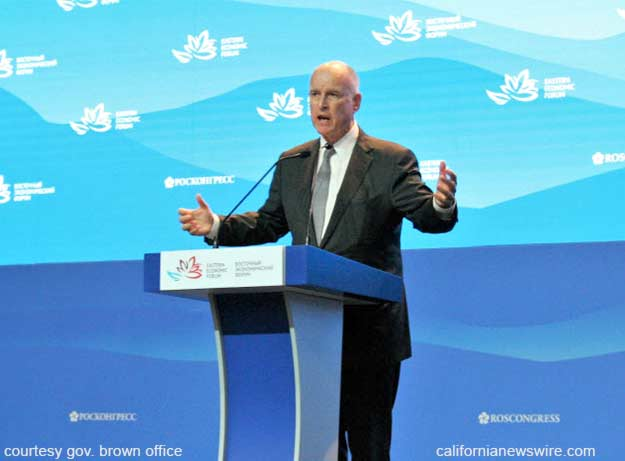 Brown delivers remarks at opening of Eastern Economic Forum
