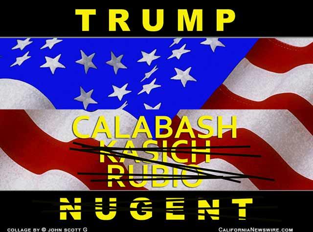 Trump Hunts Delegates