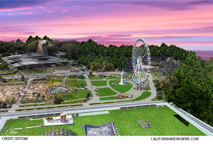 150-foot observation wheel is among the attractions being planned for Golden Gate Park's 150th anniversary in 2020