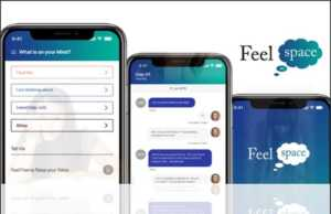 FeelSpace app from FeelU