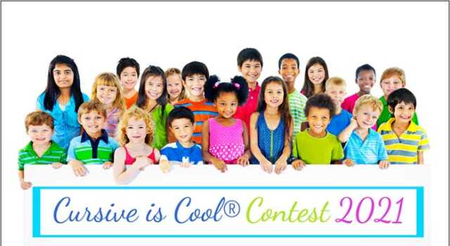 Cursive is Cool Contest 2021