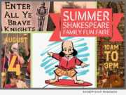 Summer Shakespeare Family Fun Faire