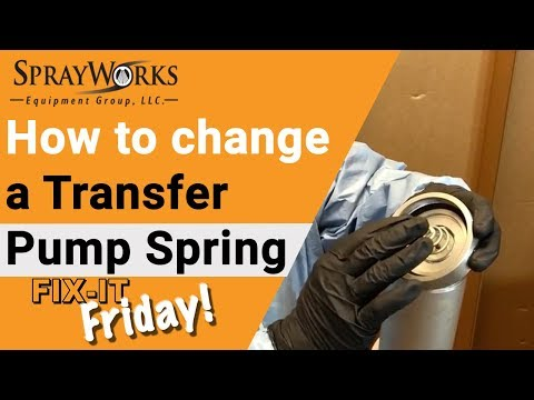 Fix-It Friday! How to replace a GHO Transfer Pump Spring - for Graco, IPM, and PMC pumps?