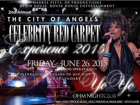 City of Angels Celebrity Red Carpet Experience 2015 - featuring Yo Yo