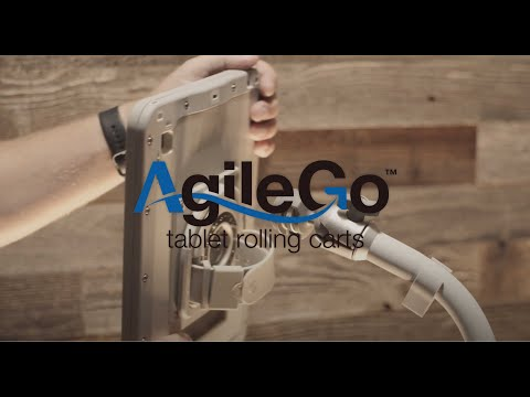 AgileGo - Tablet Rolling Carts for Healthcare
