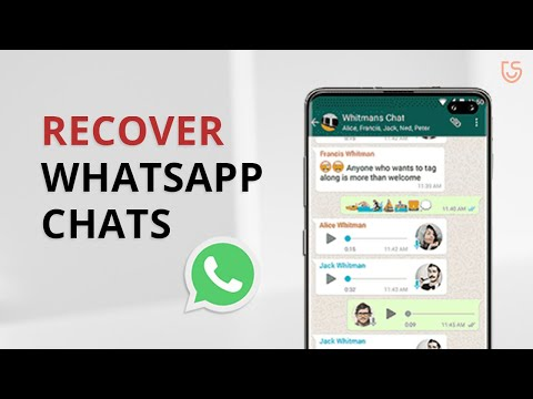 How to Recover Deleted WhatsApp Messages on Android without Root