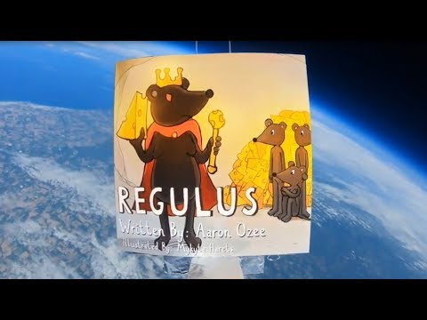 Aaron Ozee Sends Bestselling Children's Book Regulus Into Space