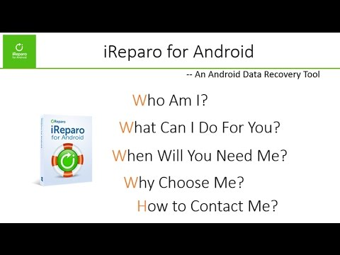 iReparo for Android One-Minute Introduction - A Data Recovery Software for Android Users