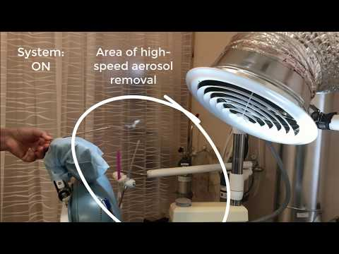 Mi Dentista Dental Clinic - Negative Pressure Environment for COVID-19 - On and Off System