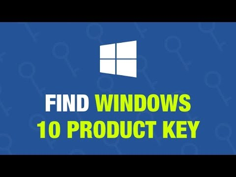 How to Find Windows 10 Product Key